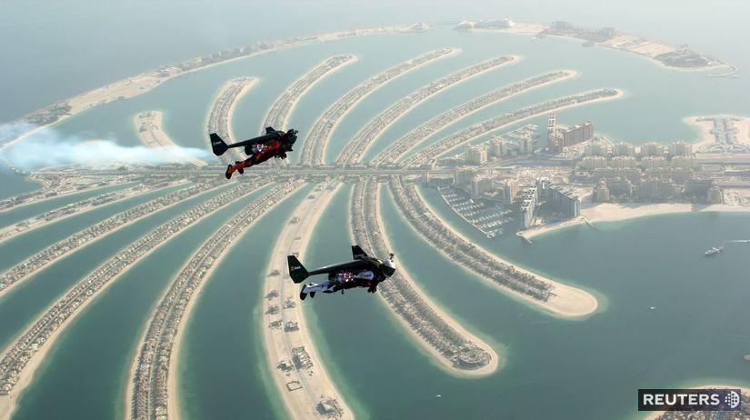 Jetman, Rossy, Reffett, Dubaj