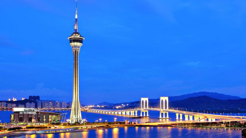 Macao, veža, Makao