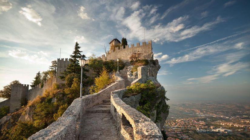 San Maríno, Rocca della Guaita, hrad