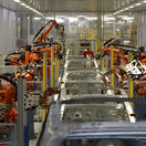 Volkswagen, karosáreň, Audi Q7, roboty