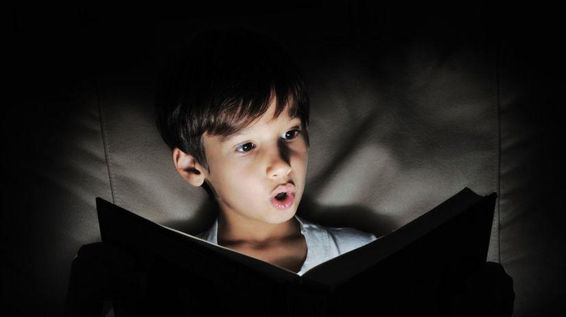 čítanie potme, čítanie