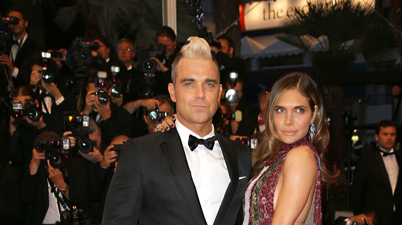 Robbie Williams a Ayda Field