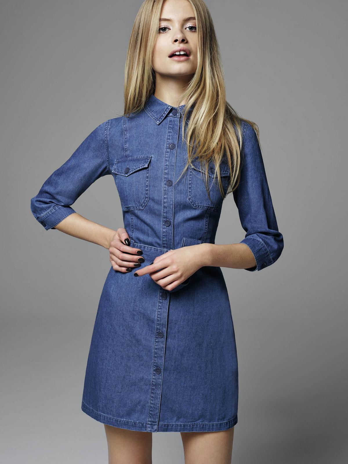 fa4a5ba2ffaa Denimové šaty trikrát inak  Vyskúšajte komfort aj štýl s džínsovinou ...