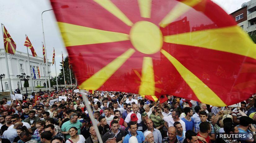 macedónsko, protesty