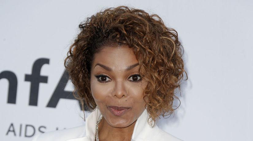 France Cannes amFAR Speváčka Janet Jackson na...