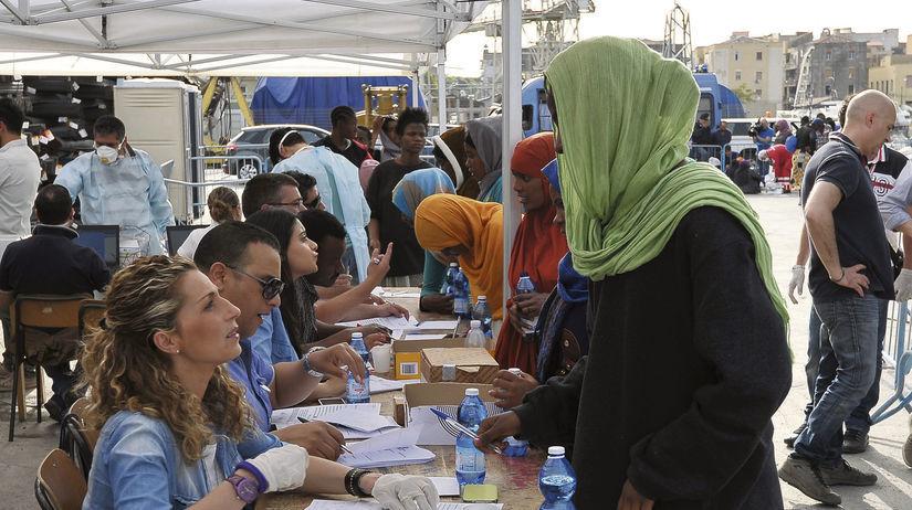 utečenci, registrácia