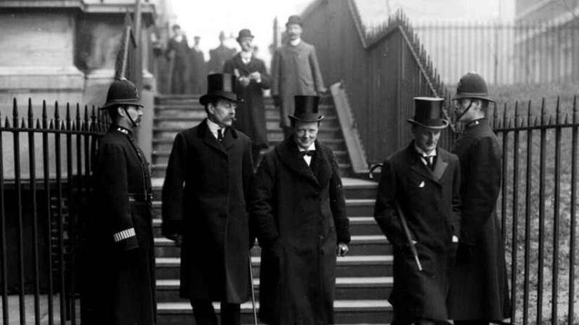 britská vláda, Winston Churchill