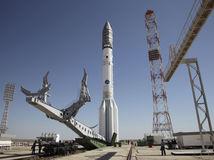 Rusko, Bajkonur, Proton-M, raketa, štart rakety,