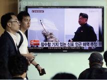 Severná Kórea, Kim Čong-un, KĽDR, balistická raketa, odpal, odpálenie, raketa