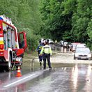 záplavy, povodne, Považská Bystrica