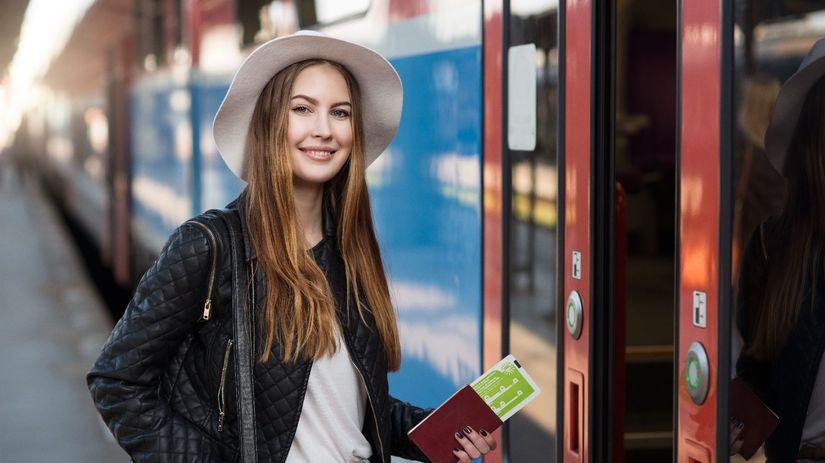 cestovanie, dievča, vlak, metro, poistenie,...