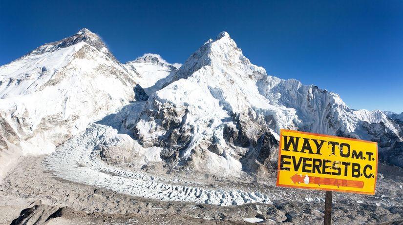 Himaláje, ľadovec, pohorie, Everest