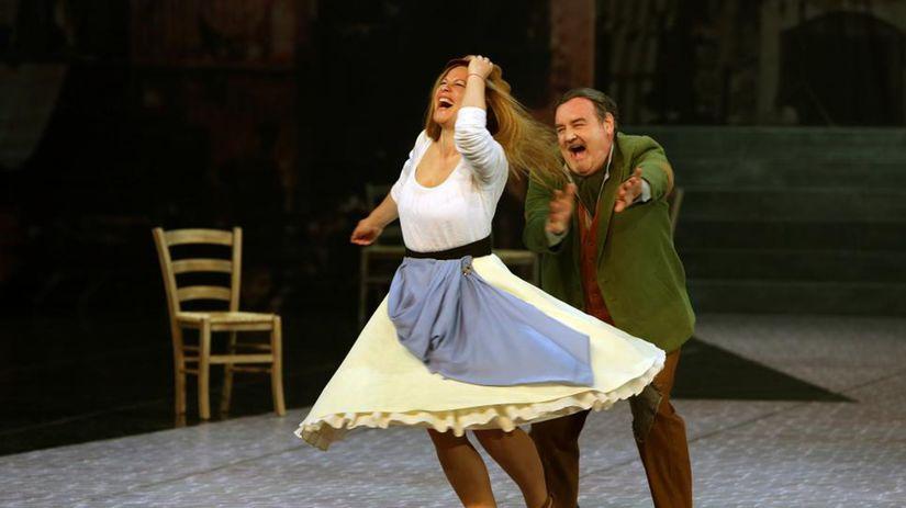 Natália Ushakova (Maliella) a Ivan Ožvát...