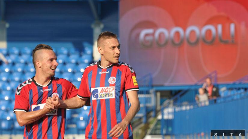Jan Kalabiška, Jozef Dolný, FK Senica, radosť