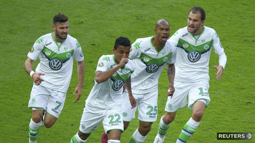 VfL Wolfsburg, futbal, radosť