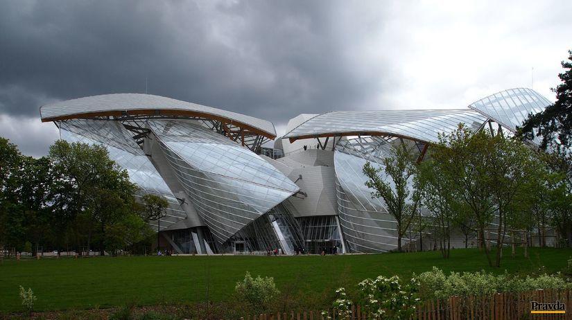 Parížska plachetnica, Frank Gehry, Paríž, Luis...