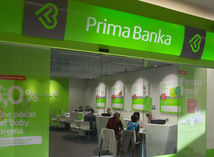 Prima banka, banka, účet