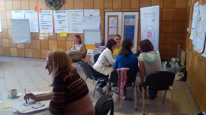 učitelia, Nitra