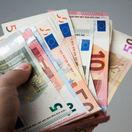 Bankovky, peniaze, euro
