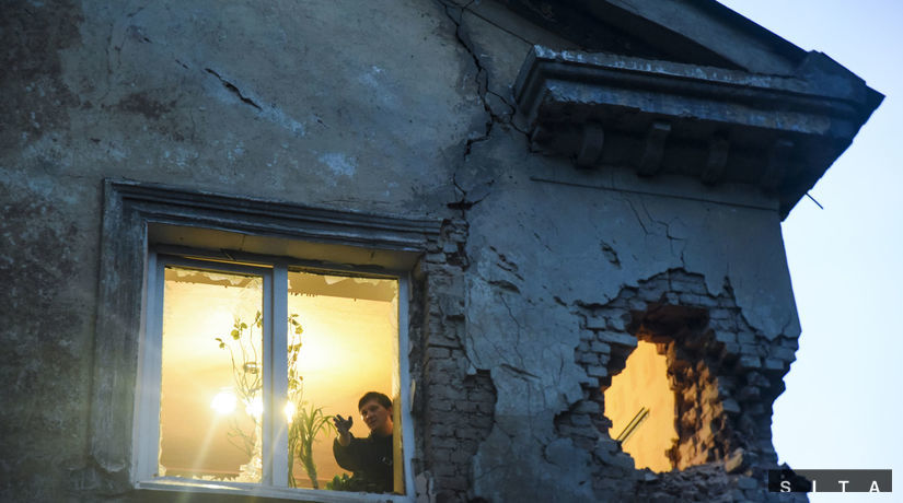 ukrajina, donbas, doneck, dom, vojna