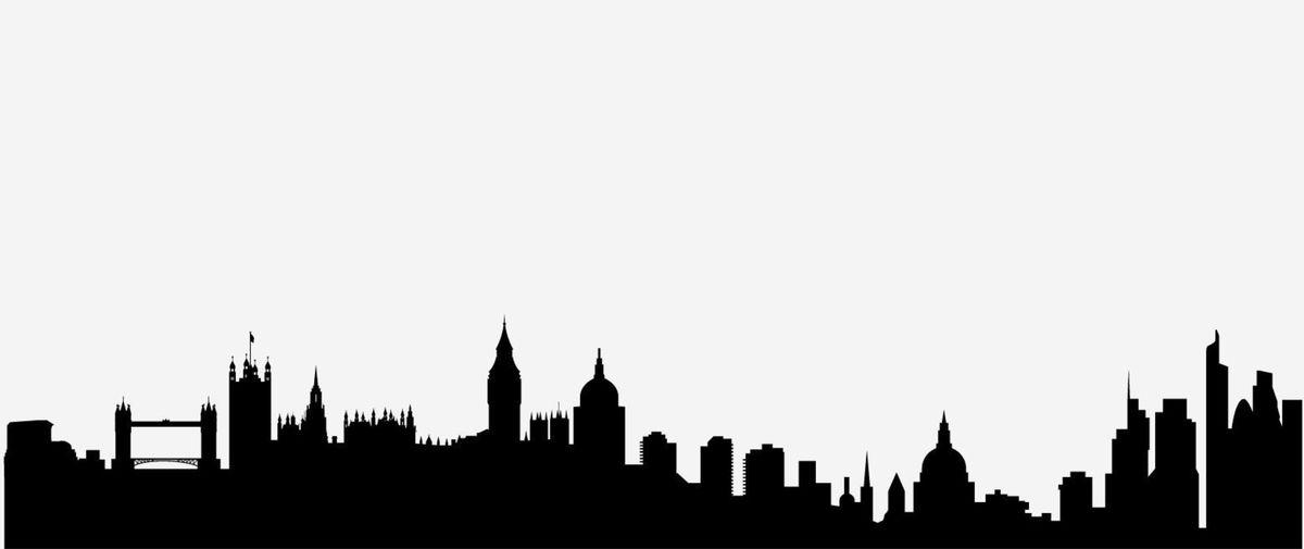 1 silueta, skyline, tvary, mesto, Londýn, Veľká Británia
