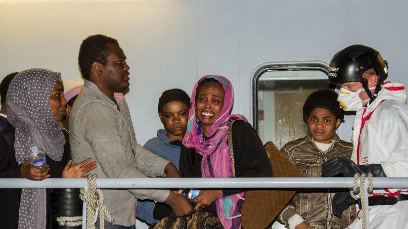 migranti, utečenci, Taliansko, Eritrejčania