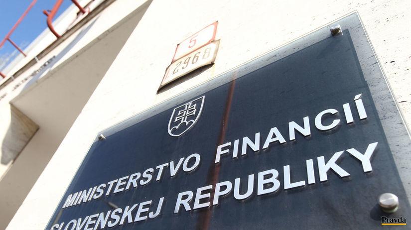ministerstvo financií, MF SR