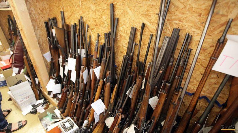 zbranova amnestia, zbran, zbrane, sklad zbrani