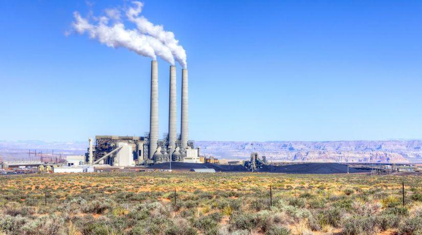 emisie, spaľovanie uhlia, ovzdušie, komíny
