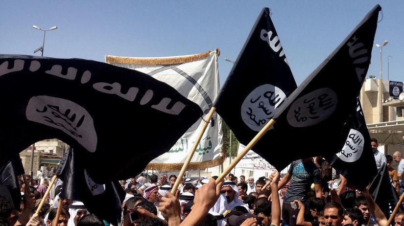 Islamský štát, Mosul, Irak, vlajka, zástava,...