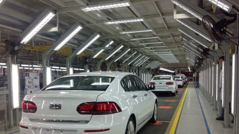 Qoros - fabrika