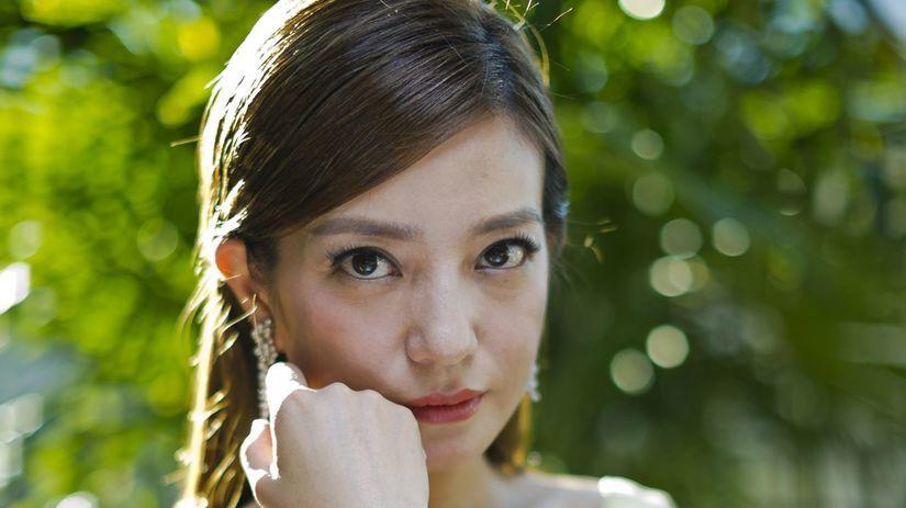 Čínska hviezda Čao Wej (Zhao Wei).