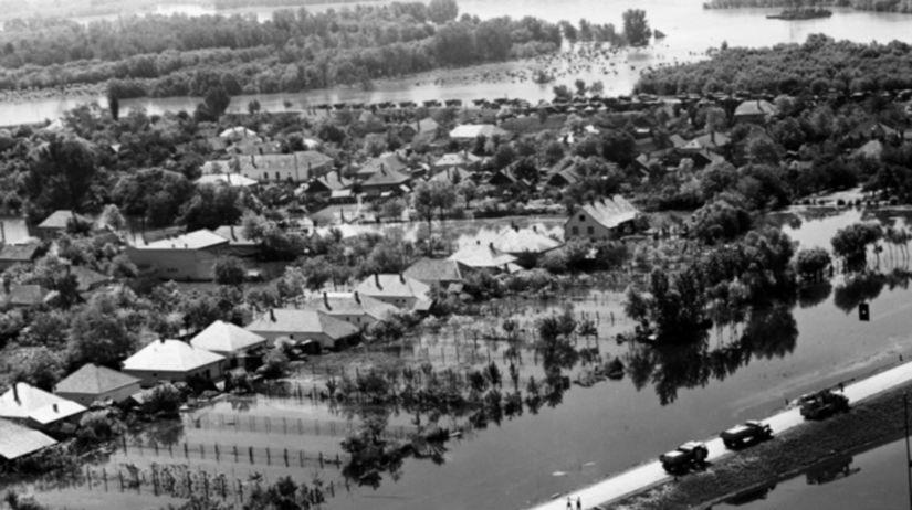 Povodeň, Dunaj, 1965