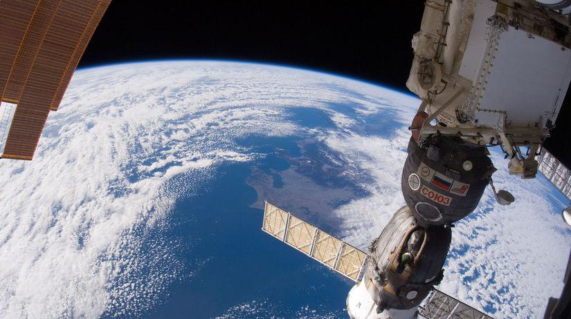 Sojuz, ISS, vesmírna stanica