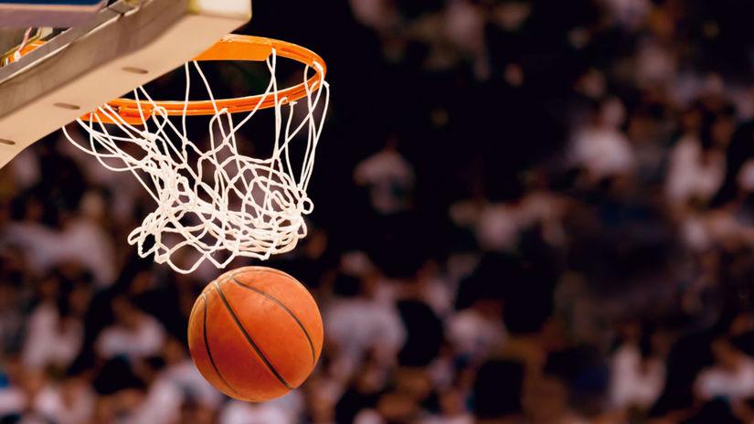 basketbal, basketbalový kôš, basketbalová lopta
