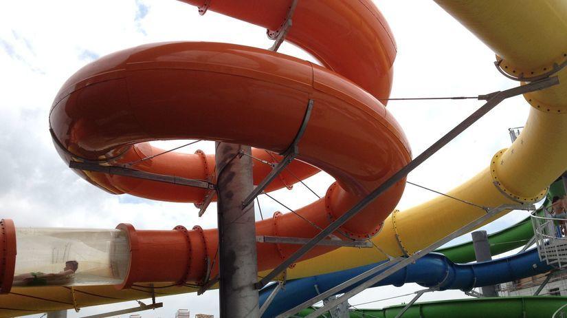 Aqua Arena, akvapark, aquapark, Šamorín,...