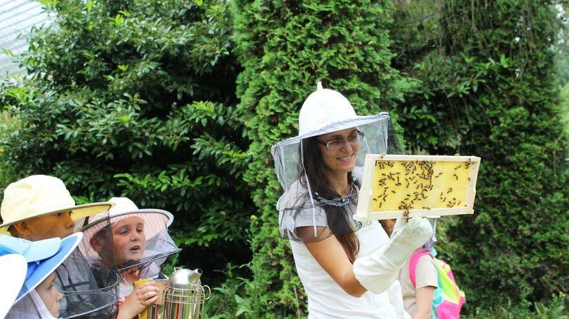 včely, med, deti, úľ, živica