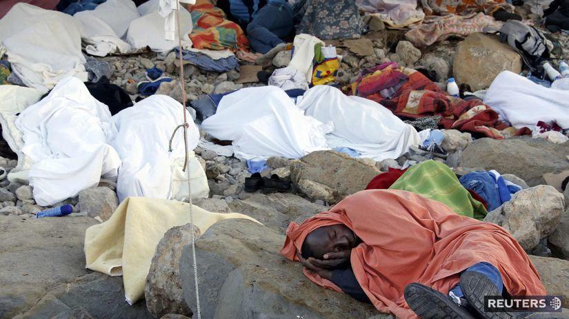 utečenci, migranti, Ventimiglia