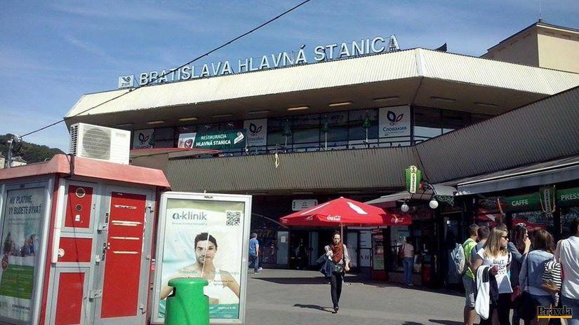 hlavná stanica, Bratislava