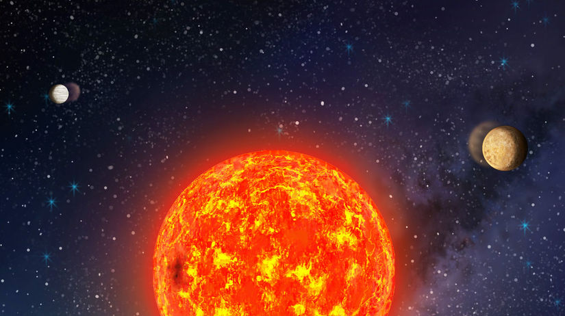 exoplanéta, vesmír
