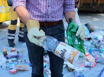 odpad, recyklovanie, pet flasa, olo