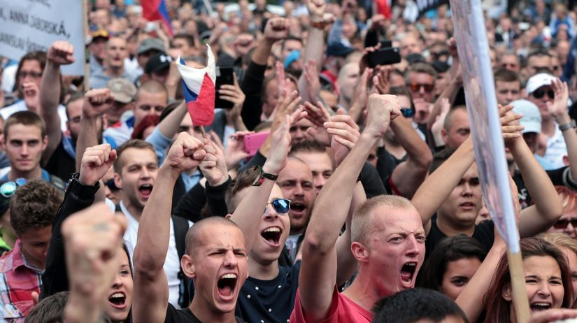 demonštrácia, Bratislava, utečenci