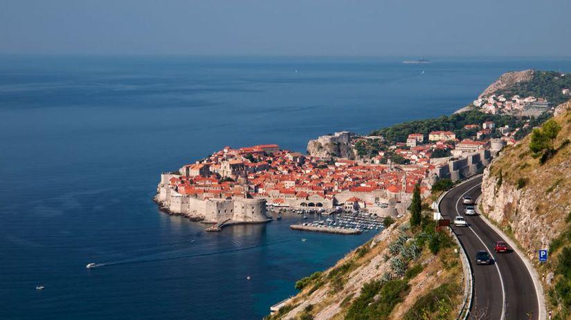 Chorvátsko, šoférovanie, cesta, auto, more,...
