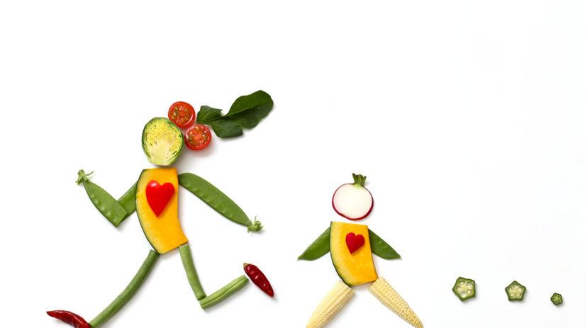 beh, behanie, strava, zelenina