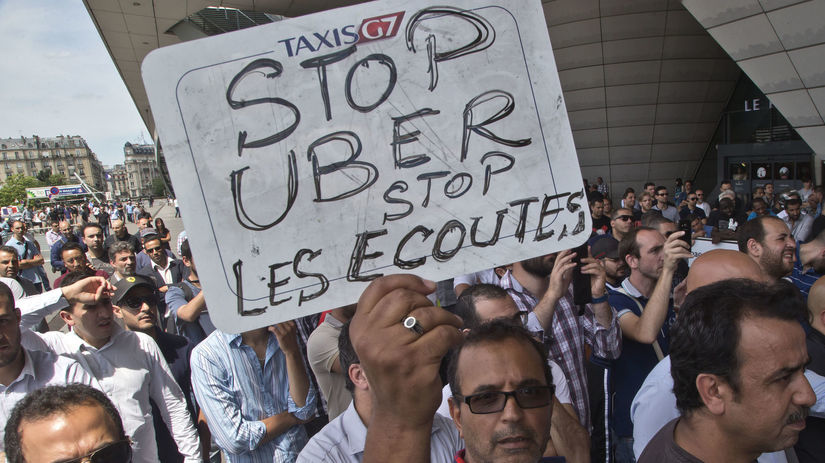 taxikári, štrajk, Francúzsko