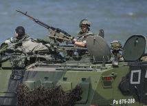 NATO, vojaci, cvičenie