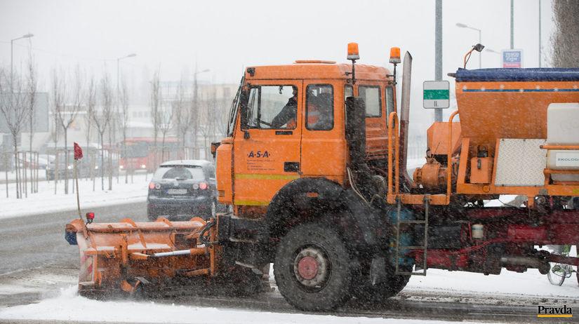 počasie, sneženie, sneh, kalamita