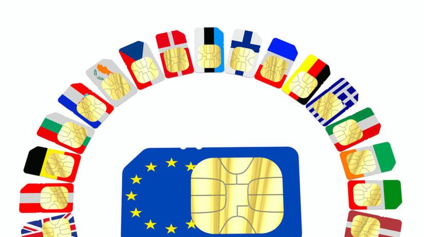 roaming, SIM, volania, dáta, európska únia, SIM...