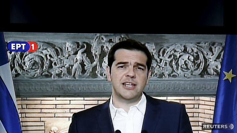 Grécko, Alexis Tsipras, referendum