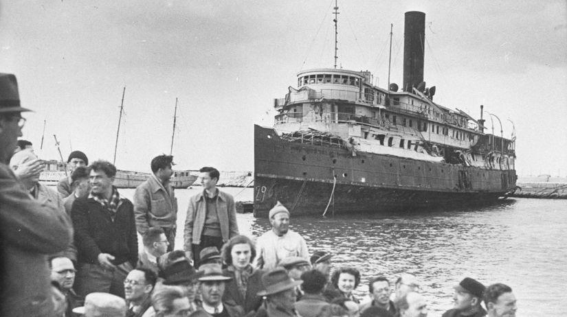 loď Exodus, židovskí utečenci